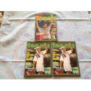 Lot De 3 Carnets Publicitaires Tennis Magazine 03/1995 Et 02/1997 À Petits Carreaux Suppléments Aux Magazines