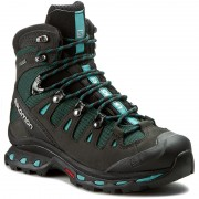 Trekkings SALOMON - Quest 4D 2 Gtx W 390277 20 G0 Asphalt/Green Black/Haze Blue