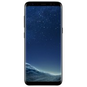 "Telefon Mobil Samsung Galaxy S8 Plus G9550, Procesor Octa-Core 2.35GHz / 1.90GHz, Super AMOLED Capacitive touchscreen 6.2"", 4GB RAM, 64GB Flash, 12MP, 4G, Wi-Fi, Dual Sim, Android (Midnight Black) + Cartela SIM Orange PrePay, 6 euro credit, 4 GB internet"