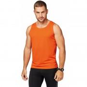 Sportief heren sport hemd oranje