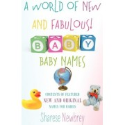 A World of New and Fabulous! Baby Names by Sharese Newbrey