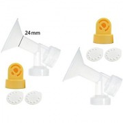 Nenesupply Pump Parts for Medela Breastpumps Medium 24mm Breastshield Valve Membrane Use on Medela Pump In Style Symphon