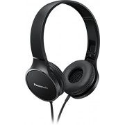 Panasonic RP-HF300 Portable Powerful Sound Stereo Headphones - Black