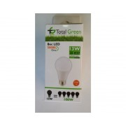 Bec Led 13W lumina rece Total Green 2 ani garantie