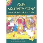 Easy Nativity Scene Sticker Picture Puzzle by Cathy Beylon