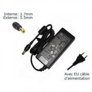 AC Adaptateur secteur pour Acer Aspire One 725 Ao725-0899 Ao725-0488 Ao725-0635 Ao725-0638 Ao725-0688 Ao725-0802 Ao725-0825 Ao725-c61kk Aspire One 756 Ao756-2420 Ao756-2808 Ao756-2899 Ao756-4854 Ao756-2623 chargeur ordinateur portable, adaptateur