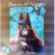 Planet Zoo Orangutan Baby 500 Jigsaw Puzzle Pieces