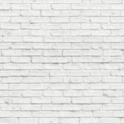Papel de Parede Adesivo 3,00x0,95 m Tijolo Branco 030