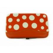 Manikúra set 7 dílů puntík oranžový 9153-3 9153-3