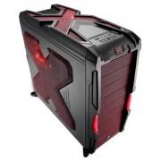 Aerocool Strike X Advance Devil Red Midi-Tower Nero, Rosso
