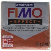 Fimo Soft Polymer Clay 2 Ounces-8020-27 Metallic Copper