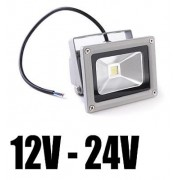 Proiector LED 10W Alimentare 12V/24V Alb Rece