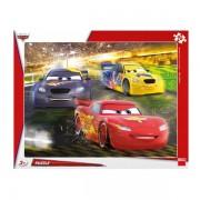 PUZZLE CU RAMA - CARS MAREA VICTORIE (40 PIESE) (322141)