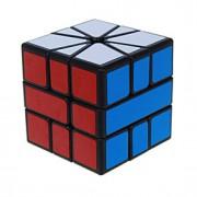 Cube velocidade lisa 333 Velocidade Cubos Mágicos Preta ABS