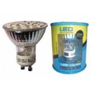Lampara led gu-10 24LEDS 3,6W luz fria 6400K