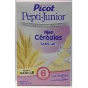 Picot Céréales Instantanées Sans Lait Pepti-Junior Vanille 300gr