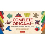 Complete Origami Kit: Everything You Need Is in This Box! [Origami Kit with 2 Books, 96 Papers, 30 Projects]