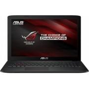 Laptop ASUS Gaming ROG GL552VX, Intel Core i7-6700HQ, 15.6'' FHD, 16GB DDR4, 1TB 7200 RPM, GeForce GTX 950M 4GB, FreeDos, Grey, versiunea metalica