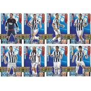 Match Attax 2015/2016 West Brom Team Base Set Plus Star Player, Captain & Away Kit Cards 15/16