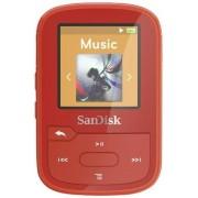 Mp3 Player SanDisk Clip Sport Plus, 16GB, Radio FM (Rosu)