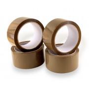 Ragasztószalag HOT-MELT Havanna barna 48mmx66 m 6 tekercs/csomag