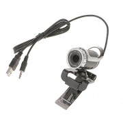 Segolike 360°USB 2.0 1080P HD WebCam Web Camera Clip-on MIC for Desktop PC Laptop