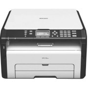 Multifunctional Ricoh SP 213SUW, laser alb-negru, A4, 22 ppm, Wireless + Cablu OEM imprimanta USB 2.0, 1.8 m