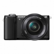 Sony Alpha A5000(ILCE-5000L/B) + SEL16-50mm E-Mount, 20.1MP,WiFi/NFC,FullHD RS125010189-16