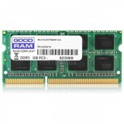 SODIMM, 8GB, DDR3L, 1600MHz, GoodRam, Low Voltage (GR1600S3V64L11/8G)