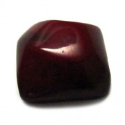 Piedra de resina color vino