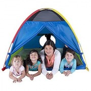 Pacific Play Tents Super Duper 4 Kid Dome Tent for Indoor / Outdoor Fun - 58 x 58 x 46