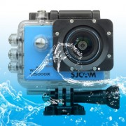 SJCAM SJ5000X WiFi Ultra HD 2K 2.0 inch LCD Sports Camcorder with Waterproof Case 170 Degrees Wide Angle Lens 30m Waterproof(Blue)