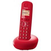 Panasonic KX-TGB210SPR Teléfono inalámbrico digital (DECT Single, identificación de llamada entrante), rojo