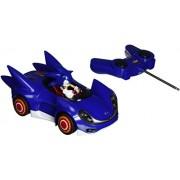 Sonic 611M Sonic - Coche teledirigido con muñeco de Sonic