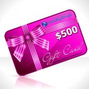 Gift Certificate $500 Menswear Gift Ideas