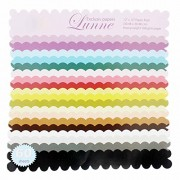 """Lunne (Exclusive papers) , Size 12""""x 12"""", Craft paper - 60 Sheets"""