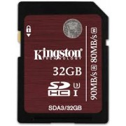 Kingston - SDA3/32GB - 32 GB - SDHC - Clasa memorie 3 - Nou