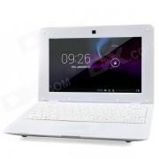 """LZ1001 10"""" Android 4.2 Netbook w/ RJ45 / Wi-Fi / Camera / Bluetooth / Wi-Fi - White"""