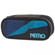 nitro Etuibox Pencil Case Fragments Blue