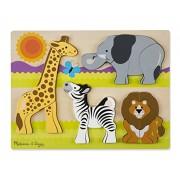 Melissa & Doug Safari Chunky Jigsaw Puzzle (20 Piece)