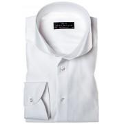 John Miller Overhemd Uni Wit Fijne Keper