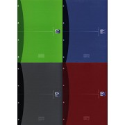 Oxford 233829 - Cuaderno, tapa extra dura, A4, 120 hojas