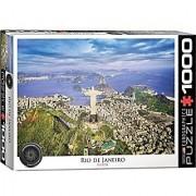 EuroGraphics Rio De Janeiro Puzzle (1000 Pieces)