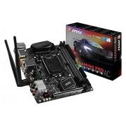 MSI Z270I Gaming Pro Carbon Ac Scheda Madre, Formato Mini-ITX, Chipset Kabylake, Nero