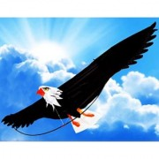 The Mighty Bald Eagle 3d Kite with 6- 6 (78 Inch) Wing Span with Realistic Proportions and Made of Premium Materials