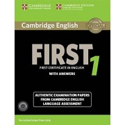 Cambridge English Language Assessment Cambridge first certificate in english. For updated exam. Self-study pack. Con CD Audio: First Certificate in English with Answers. For Revised Exam ... and Audio CDs (2)) (FCE Practice Tests)