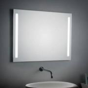 KOH-I-NOOR ILLUMINAZIONE LATERALE Wandspiegel B: 90 H: 70 T: 3,3 cm, mit Seitenbeleuchtung 45732, EEK: A+. Dieser Spiegel ist geeignet für Leuchtmittel der Energieklassen: A+, A, B. Der Spiegel wird verkauft mit einem Leuchtmittel der Energieklasse: A.