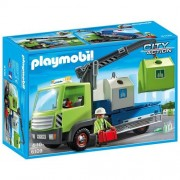 Playmobil 6109 - Camion per la Raccolta Differenziata con Gru