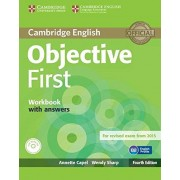 Annette Capel Objective First Workbook with Answers with Audio CD Fourth Edition