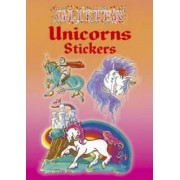 Glitter Unicorns Stickers by Christy Shaffer